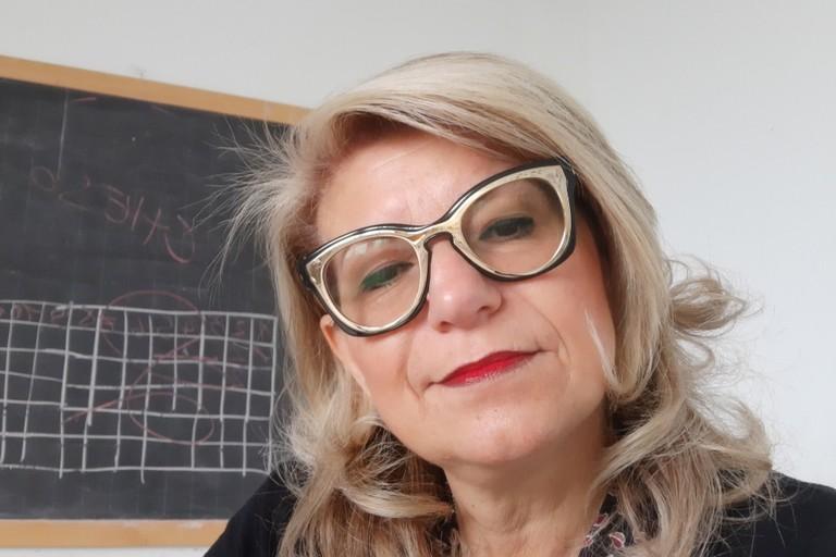 l'insegnante Cecilia Guarino