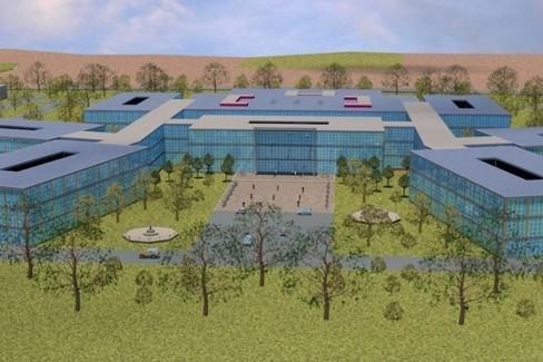 progetto del nuovo ospedale di Andria