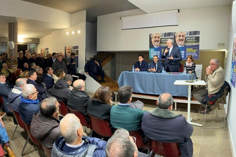 incontro elettorale con Michele Emiliano