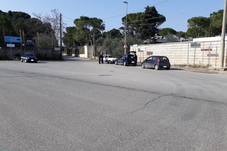 posto di controllo della Polizia Locale