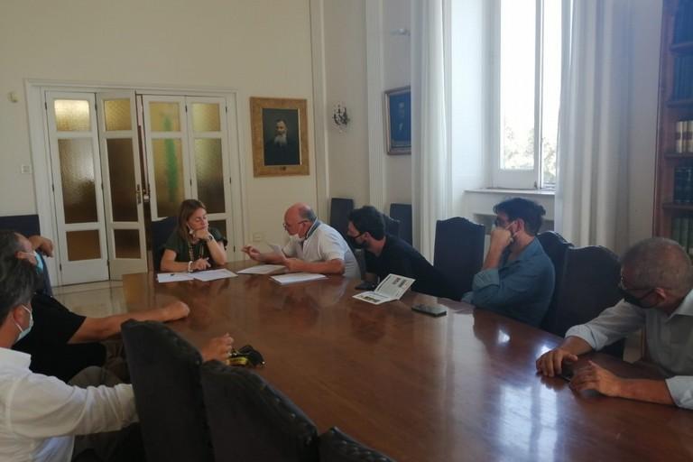 Incontro a Palazzo di Città tra il Sindaco Bruno e le Associazioni dei produttori