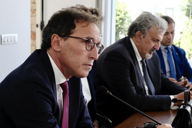 Francesco Boccia e Michele Emiliano