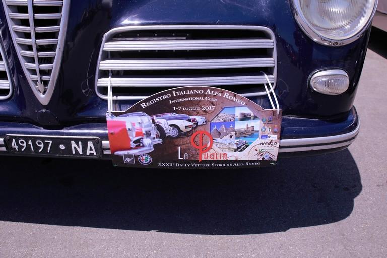 XXXII° Rally Vetture Storiche Alfa Romeo, La Puglia. <span>Foto Vincenzo Bisceglie</span>
