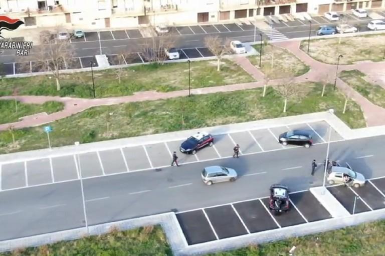 controlli dei carabinieri ad Andria