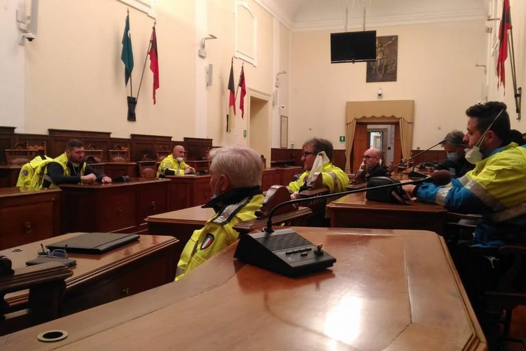 COC protezione civile di Andria
