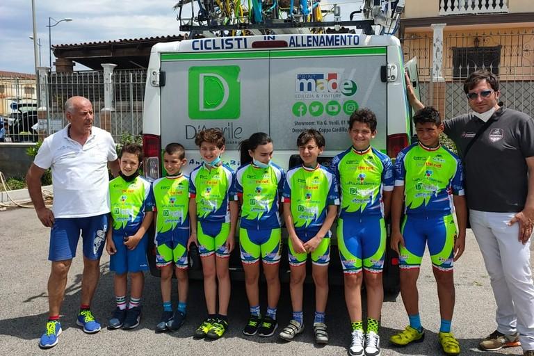 Andria Bike giovanissimi a Torre Annunziata