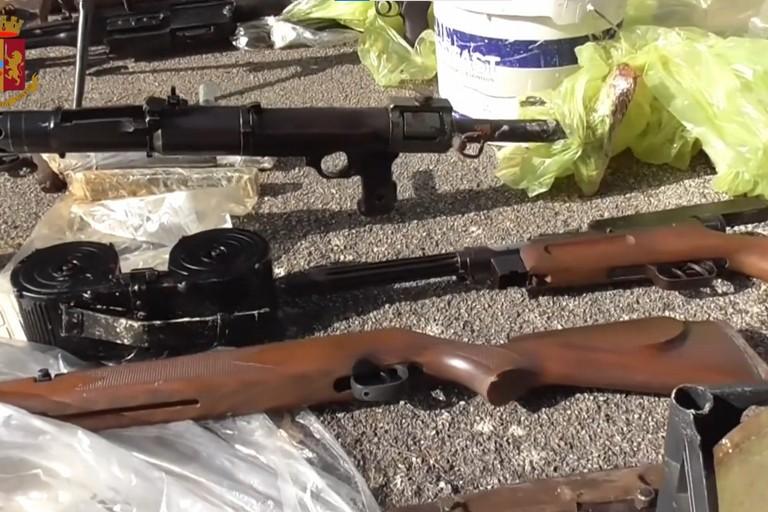 Armi da guerra rinvenute ad Andria