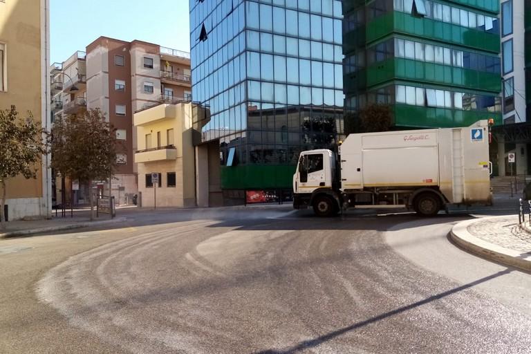 pulizia strade di Andria