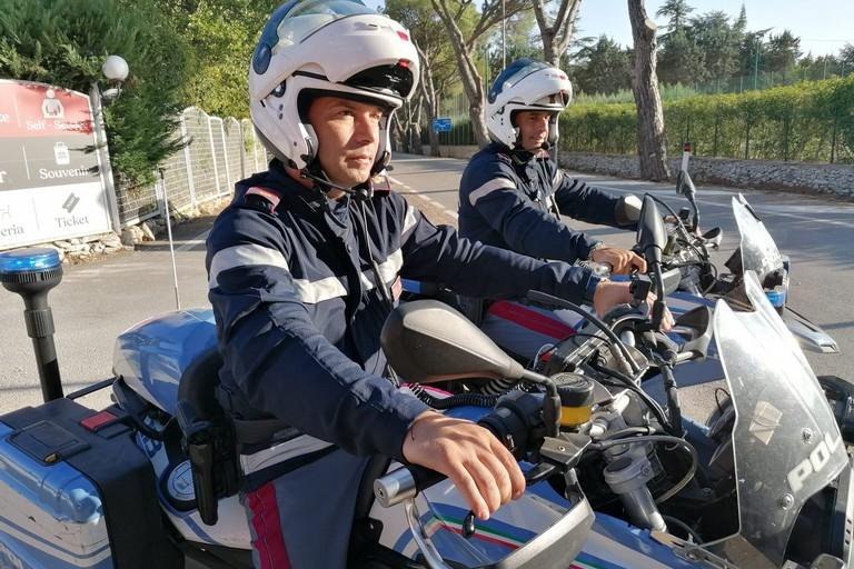 motociclisti Polizia di Stato. <span>Foto Vincenzo Cassano</span>