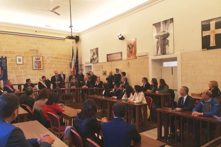 Il Ministro Bonisoli a Canosa di Puglia
