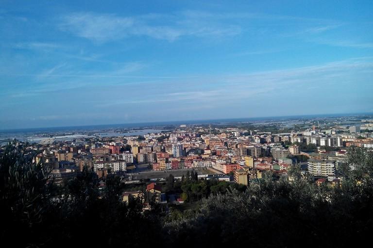 Panorama della Città di Battipaglia