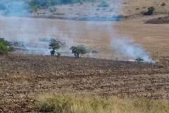 Vasto incendio a Monte Caccia, intervento del Nucleo Volontariato Città di Andria