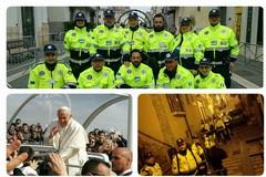 """Il nucleo di volontariato """"Città di Andria"""" al servizio di Papa Francesco"""