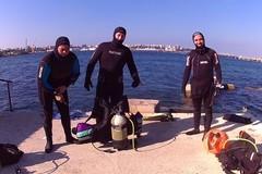 Puliamo il mondo: i sub andriesi rastrellano l'immondizia dai fondali del Mar Piccolo di Taranto