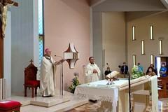 Parrocchia di San Riccardo: il Vescovo Mansi partecipa alla festa del Corpus Domini