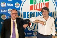 Raffaele Fitto ad Andria con il candidato sindaco Antonio Scamarcio ed i candidati andriesi al consiglio regionale
