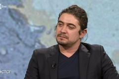 """Riccardo Scamarcio a """"Che tempo che Fa"""" per presentare il suo film """"L'ultimo Paradiso"""""""