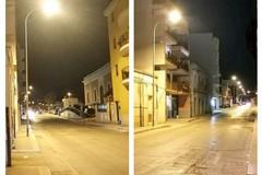 Ripristinata l'illuminazione pubblica in via Don Lotti, nei pressi dell'ex macello