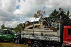 Scattano i controlli dei Carabinieri Forestali: sequestrato autocarro con rifiuti speciali