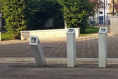 "Piazza Santa Maria Vetere: ""abbattuta"" una colonnina del bike sharing"