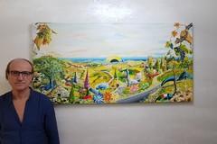 Numerosi riconoscimenti per l'infermiere-artista andriese Tonino Porro
