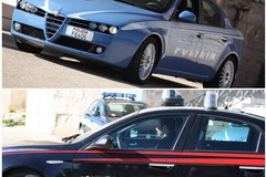 Mazda 6 rubata fugge alla vista dei Carabinieri. Inseguimento sulla sp 231 direzione Canosa di Puglia