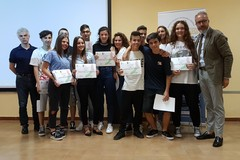 """Operatori Volontari della Protezione Civile: il riconoscimento agli studenti della scuola """"Ettore Carafa"""""""