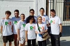 """Banchetti anche ad Andria per la manifestazione nazionale del Pd intitolata """"Per Amore dell'Italia"""""""