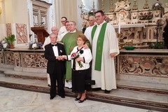 Festa per i 50 anni di nozze del diacono Michele Melillo