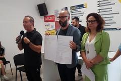 Elezioni comunali a Corato: presentazione del candidato M5S con i pentastellati andriesi