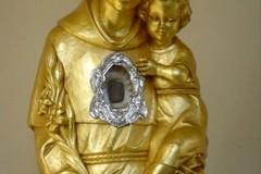 La reliquia di Sant'Antonio di Padova giunge ad Andria