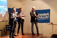 Ad Andria l'europarlamentare Casanova: forse l'annuncio della candidatura di un Sindaco targato Lega
