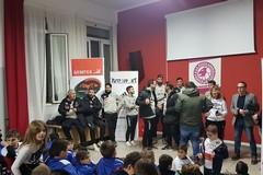 La Nuova Andria Calcio festeggia il Santo Natale con il Centro Zenith e Legambiente
