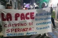 """""""Un cammino di speranza"""": la diocesi di Andria in marcia per la pace a Minervino Murge"""