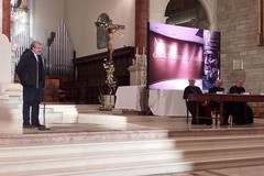 Il Presidente Emiliano all'inaugurazione del Museo diocesano di Andria