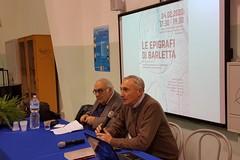 """Al liceo """"C. Troya"""" presentato il testo storico """"Le epigrafi di Barletta"""" del prof. Filannino"""