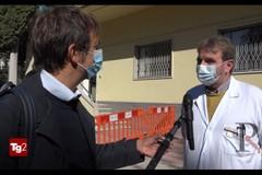 Servizio Tg2 dedicato ad Andria: uno dei più importanti centri per i test covid della Puglia