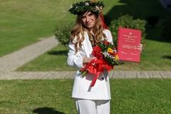 Laurea ai tempi del Covid: discussione tesi in presenza per la laureanda Porzia Guglielmi