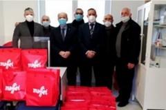 U.N.C.I. Bat dona pacchi alimentari all'associazione Orizzonti