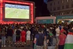 Maxi schermo in piazza ad Andria per la finale degli europei, la proposta dell'ass. Ideazione