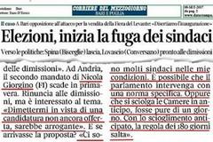 Invito a dimettersi di Michele Coratella (M5S) a Nicola Giorgino