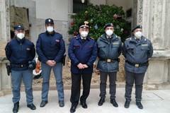 Santo Natale: Polizia di Stato, Arma dei Carabinieri e Guardia di Finanza portano i saluti al Vescovo Mansi