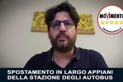 Mobilità urbana: spostamento autobus in Largo Appiani, proposta del M5S bocciata nel 2016 dall'amministrazione Giorgino