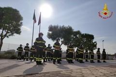 Prestano giuramento a Bari 24 allievi Vigili del Fuoco: con l'attesa mobilità si attendono rinforzi per la Bat