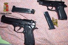 Due pistole ritrovate ed un 31enne arrestato