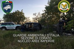 Auto rubate scoperte tra Andria e Corato dalle Guardie Ambientali d'Italia