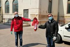 Uova pasquali donate dalla Croce Rossa di Andria alla parrocchia di San Riccardo