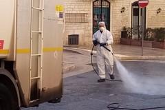 Coronavirus, nuovo intervento di sanificazione ad Andria e nella frazione di Montegrosso