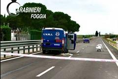 Assalto ai tir: arrestato dai Carabinieri di Cerignola pregiudicato andriese