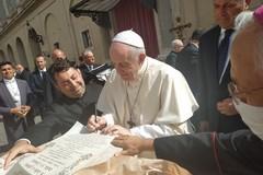 La Comunità parrocchiale del Sacro Cuore di Gesù Andria incontra Papa Francesco